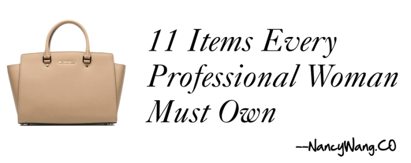 11 Items every professional woman must own
