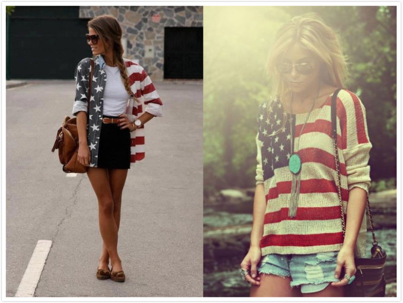The American Flag Outfit