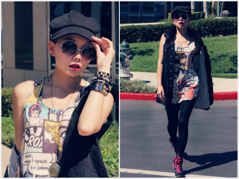7 rocker looks| Nancy's outfits Roundup 7